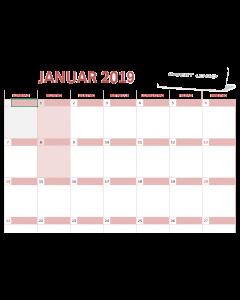 Calendar 2019- Excel