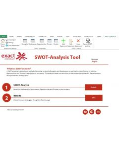 SWOT Analysis (Excel tool)