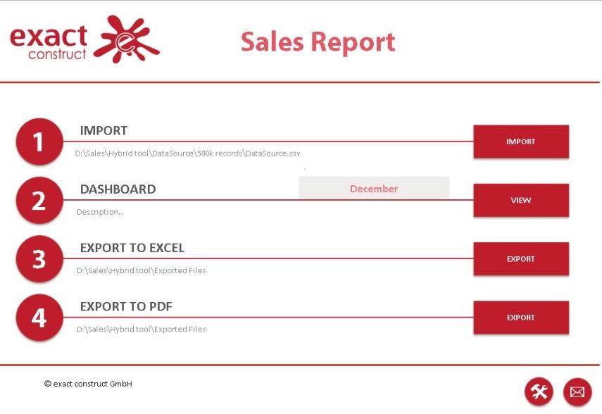 exactboard - Excel Dashboard
